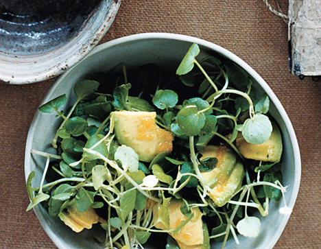 Avocado and Watercress Salad   THE URBAN CLINIC