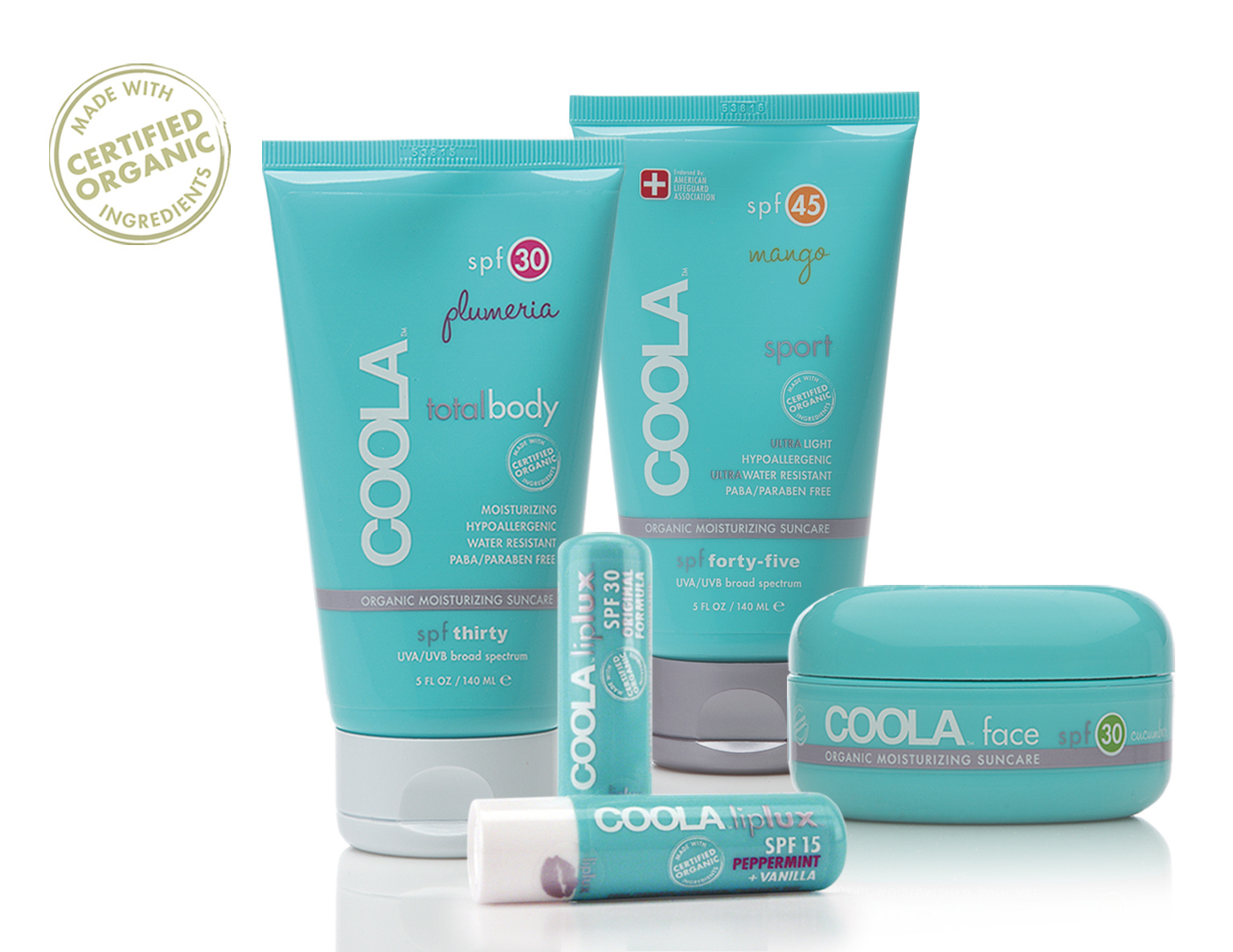 Coola sun care products the urban clinic